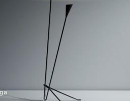 مدل سه بعدی چراغ ایستاده مدرن