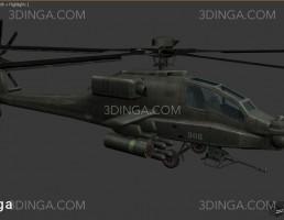 هلیکوپتر نظامی AH64_APACHE