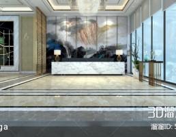لابی  مدرن هتل چینی