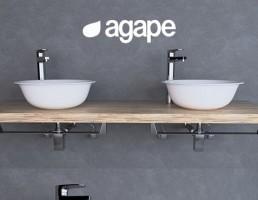 کاسه روشویی حمام Agape