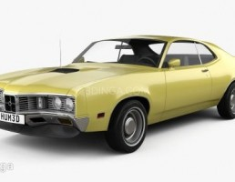 Mercury Montego Coupe سال 1970