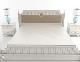 ست تخت خواب سفید