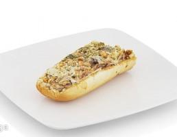 ساندویچ + سالاد الویه