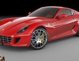 ماشین فراری 599 GTB Fiorano