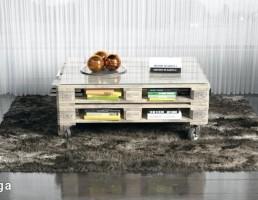 قالیچه خزدار + میز عسلی