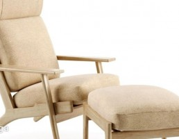 صندلی راحتی + جلو پایی