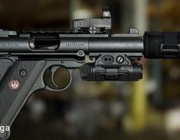 اسلحه روگر مدل  IV tactical