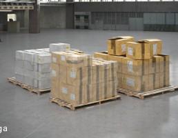 تجهیزات بسته بندی شده انبار
