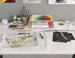 مجموعه وسایل طراحی