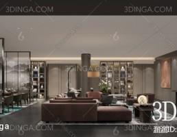 صحنه داخلی کافه سبک چینی