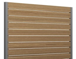 فنس  چوبی