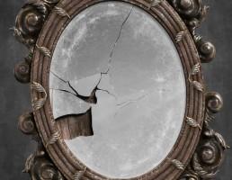 آینه دیواری قدیمی