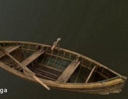 قایق چوبی