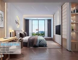 اتاق خواب سبک ژاپنی