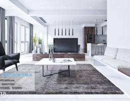 اتاق نشیمن سبک مدرن