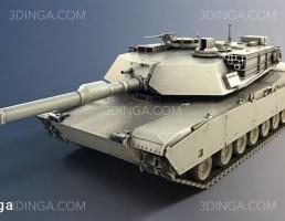 مدل سه بعدی تانک جنگی
