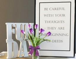 قاب عکس + گلدان گل