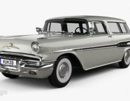 ماشین Pontiac مدل Safari 2-door سال 1957