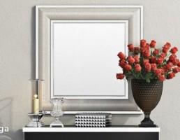 آینه و کنسول + وسایل تزیینی