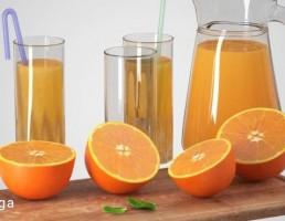پرتقال + آب پرتقال