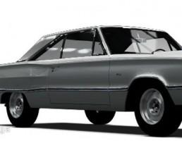 ماشین دوج کرنت مدل W023 سال 1967