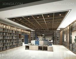 صحنه داخلی فروشگاه کتاب