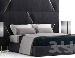 تخت خواب دو نفره کلاسیک