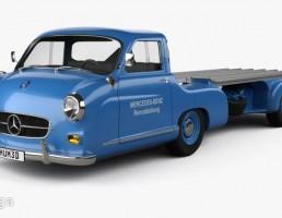کامیون مرسدس بنز Renntransporter 1954