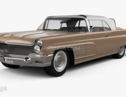 ماشین لینکلن مدل Continental Mark V سال 1960
