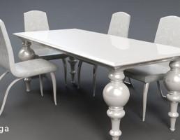 میز و صندلی غذاخوری لوکس