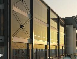 نمای خارجی ساختمان اداری