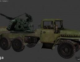 کامیون تجهیزات نظامی