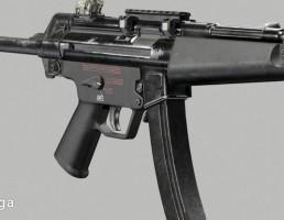 اسلحه  MP 5 A3