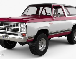 ماشین Dodge Ramcharger 1979