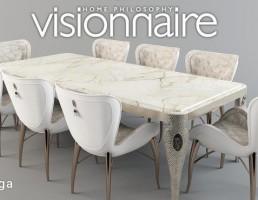 ست میز و صندلی نهارخوری Visionnaire
