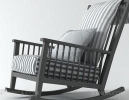 صندلی گهواره ایی کلاسیک