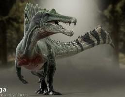 دایناسور Spinosaurus aegyptiacus