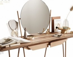 میز کنسول + آینه مدرن