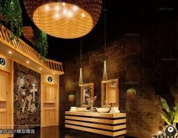 صحنه حمام سبک آسیای شرقی 2