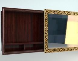 مدل آینه حمام کلاسیک