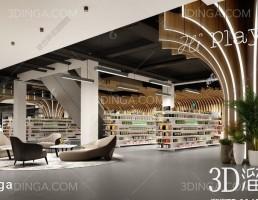 صحنه داخلی سوپرمارکت