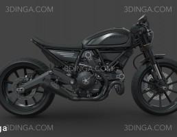 موتور سیکلت دوکاتی اسکرمبلر