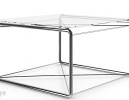میز عسلی شیشه خور