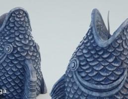 مجسمه ماهی