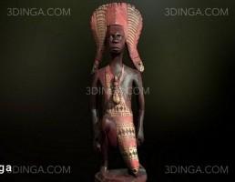 مجسمه مرد آفریقایی