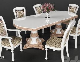 میز و صندلی نهار خوری کلاسیک