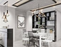 آشپزخانه و غذاخوری سبک مدرن 4