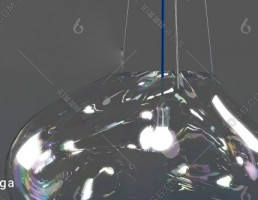 مدل سه بعدی چراغ سقفی مدرن