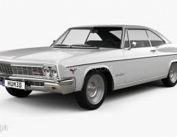 ماشین شورلت مدل کوپه سال 1966