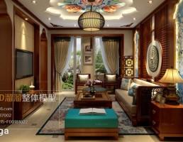 اتاق نشیمن سبک آسیای جنوب شرقی